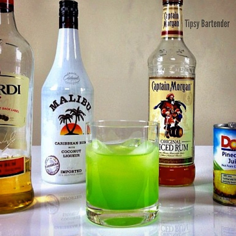 Superman's Kryptonite Cocktail