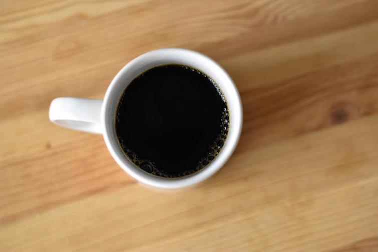 how to prepare black coffee