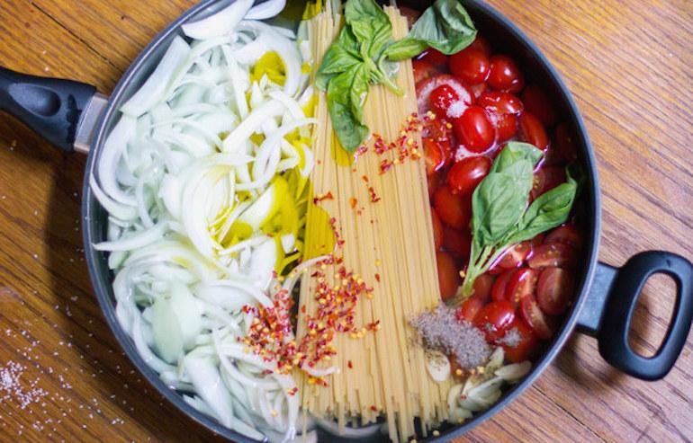 Pasta recipes light
