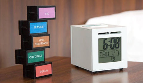 food-scented alarm clock