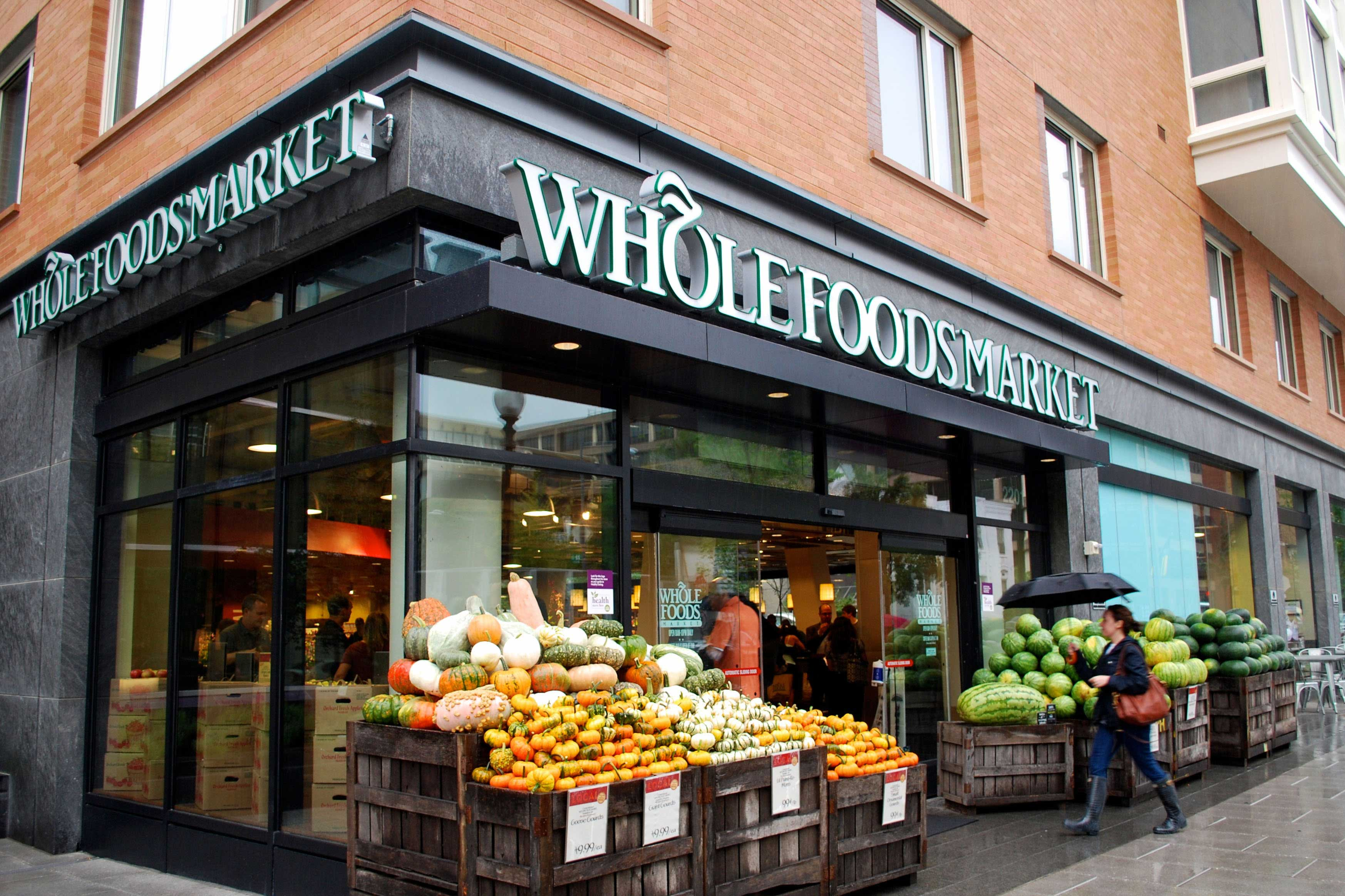 Location of whole food market