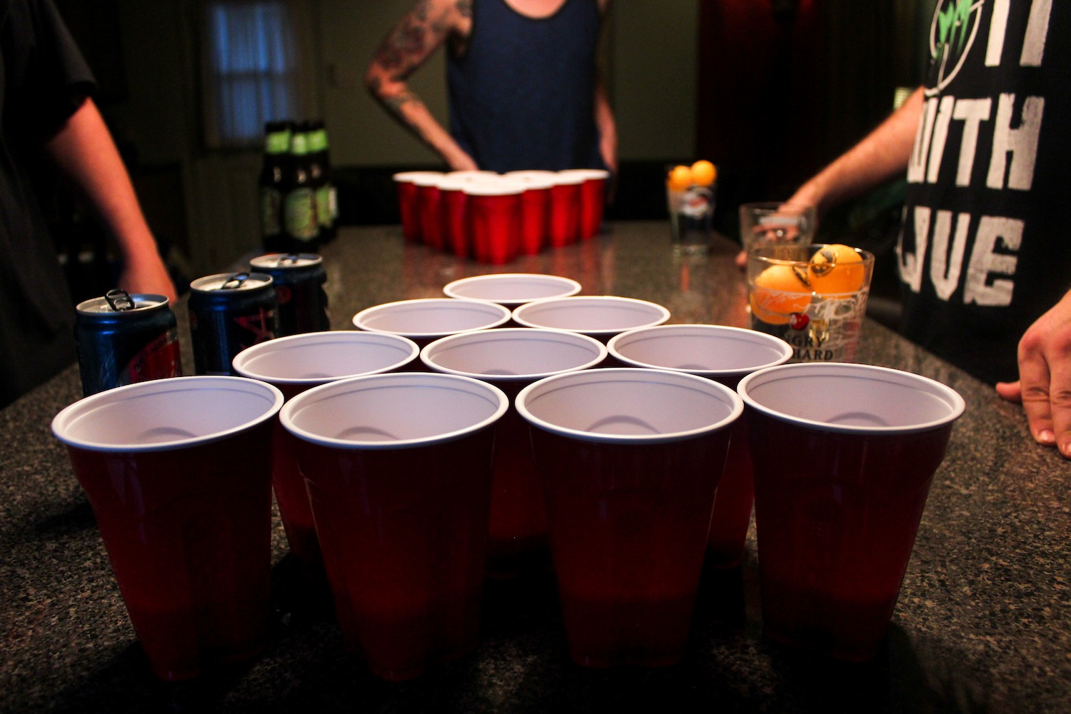 These Guys Just Invented a Way to Make Beer Pong Much Cleaner