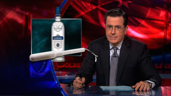 Photo courtesy of thecolbertreport.cc.com