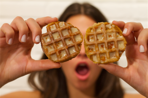 Make it Into A Cookie: Chicken & Waffles