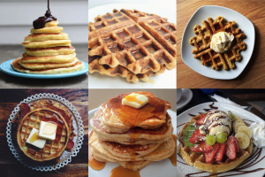 8 Waffle and Pancake #SpoonFeed Photos That'll Make You Forget Eggs Exist