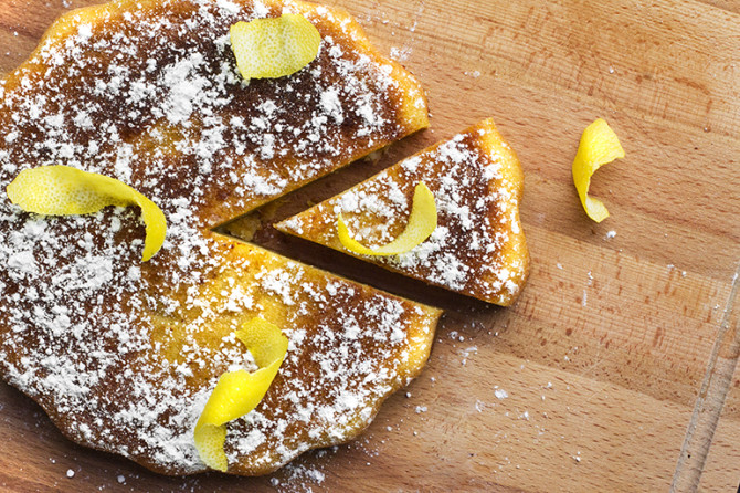 This Peach Lemon Butter Cake Will Literally Melt in Your Mouth