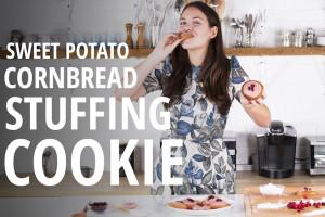 Make it Into a Cookie: Sweet Potato Cornbread Stuffing Cookie