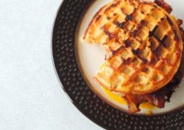 This BEC Eggo Waffle is the Ultimate Breakfast Sandwich