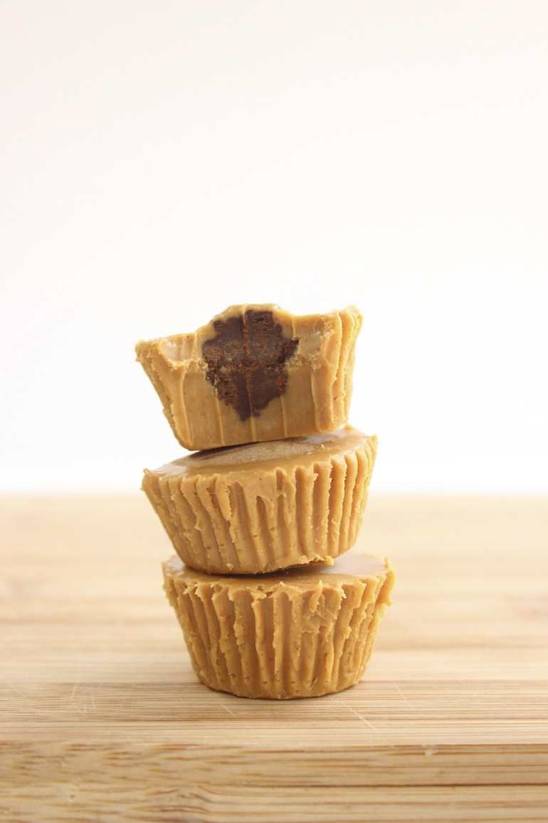 Inside-Out Peanut Butter Cups Recipe — Dishmaps