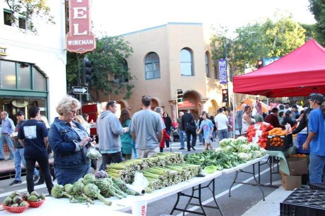 west coast farmers' markets