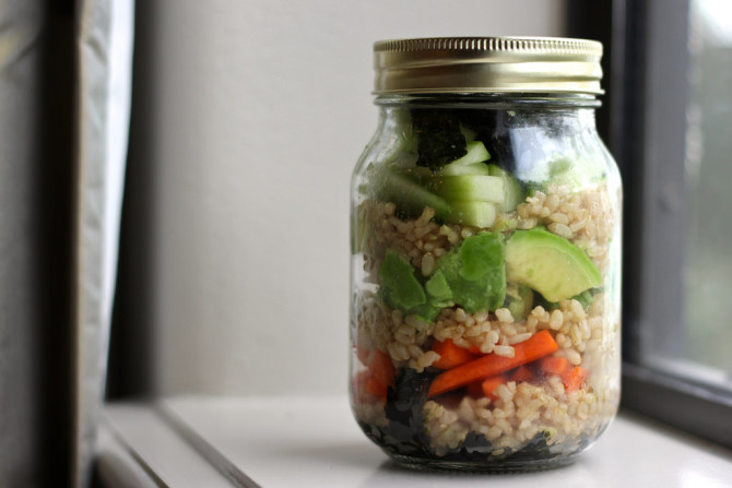 Healthy portable lunches