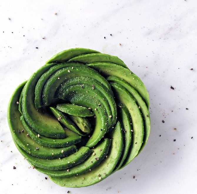 avocado rose