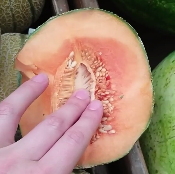 touching fruit