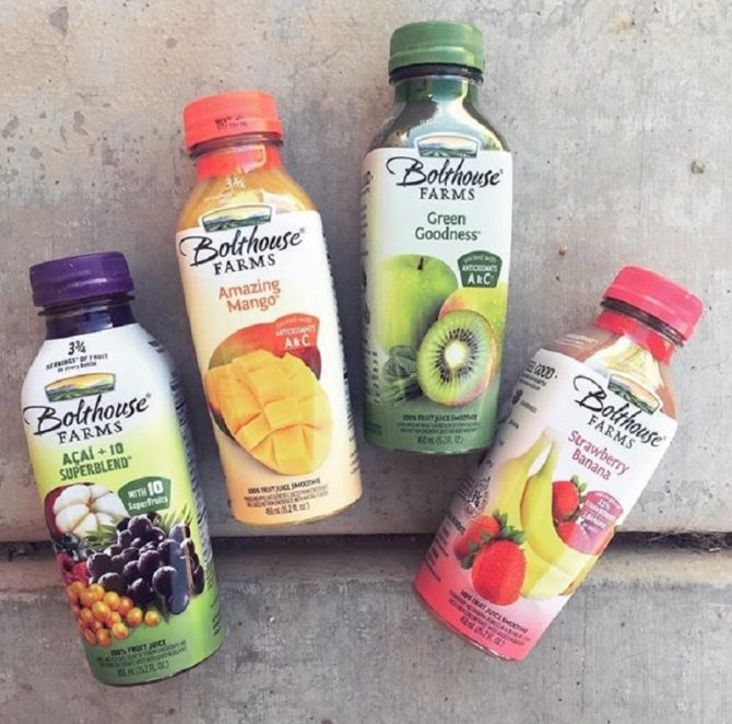 bottled smoothies