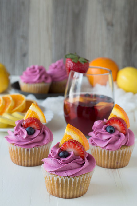 boozy cupcake
