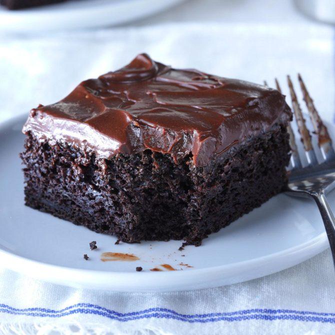 Sue S Chocolate Zucchini Cake