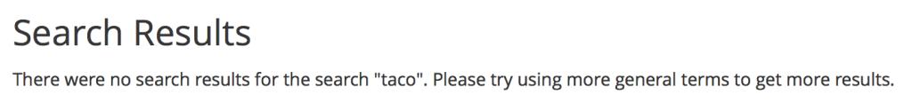Taco Search