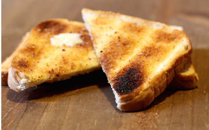 Plain Buttered Toast