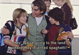 The 7 Phases of Eating in Europe, According to Lizzie McGuire