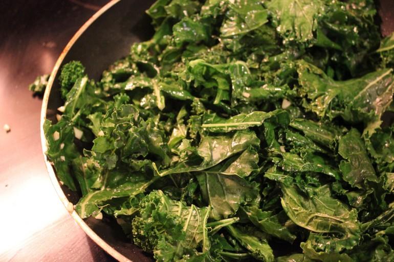 eat kale