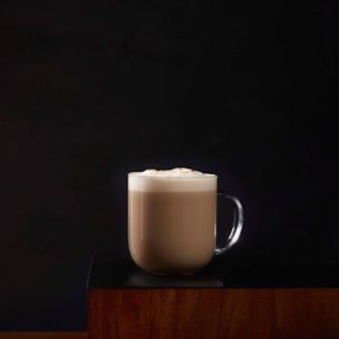 toasted graham latte