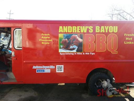 Photo courtesy of Andrew's Bayou Ribs