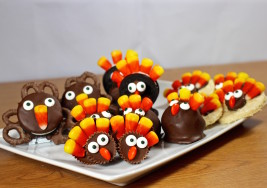 5 Adorable Turkey-Shaped Treats to Make for Thanksgiving