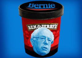 Ben & Jerry's Created a New Ice Cream Flavor Just for Bernie Sanders