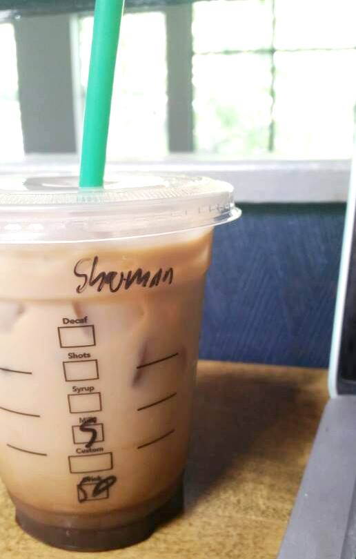Starbucks misspellings