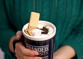 Simpsons-Inspired Fluffernutter Hot Chocolate