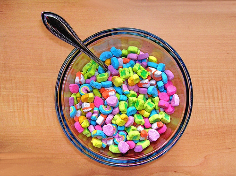 how to get lucky charms marshmallows cereal