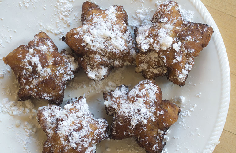 how to make cinnamon roll donut fries