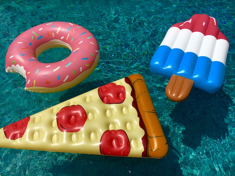 13 Food Inspired Pool Floats Better Than A Boring Noodle