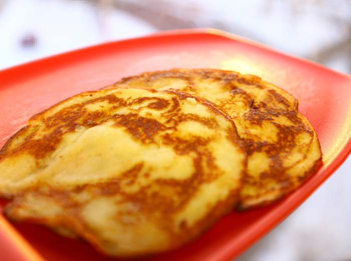 Simple Single Serving Pancakes