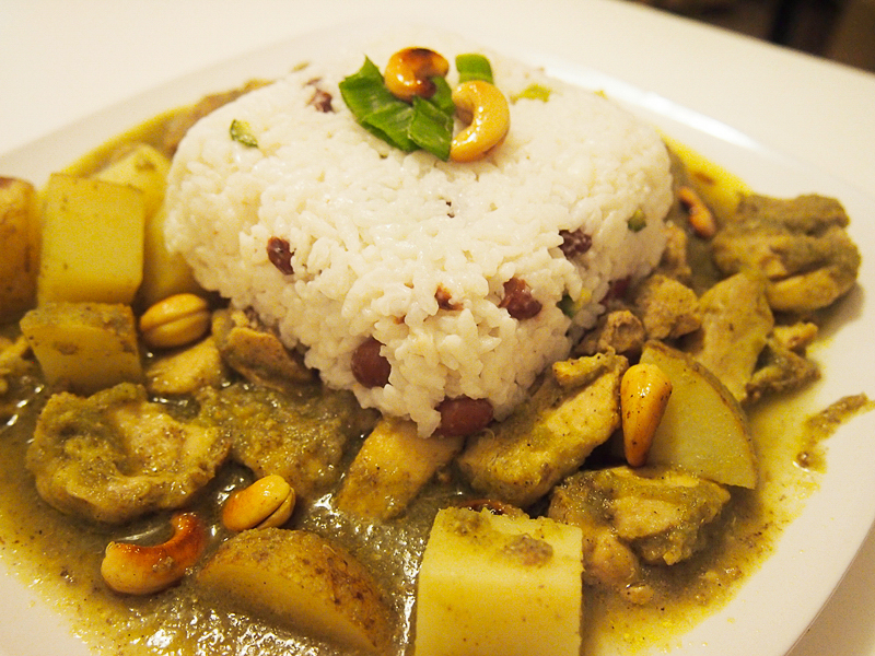 Healthy Jamaican Chicken Curry