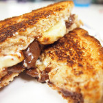 Nutella Banana Grilled Cheese