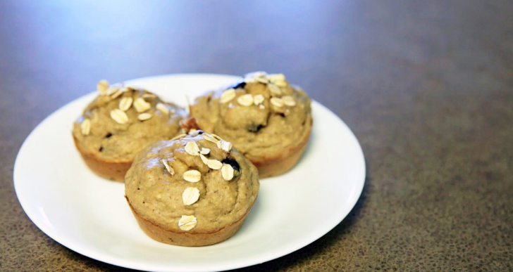 Use Your Blender Like a Badass: Banana Bread Muffins