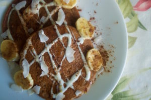 How to Make Protein-Packed Cinnamon and Chocolate Pancakes