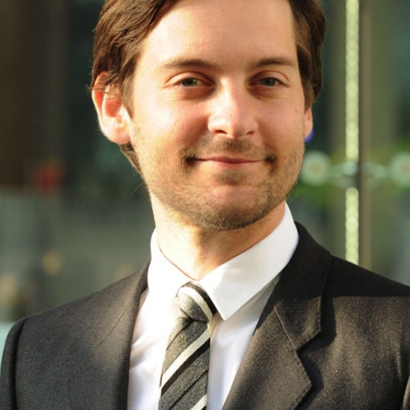 Believe It Or Not, These 37 Celebrities Never Drink Alcohol Tobey Maguire Instagram