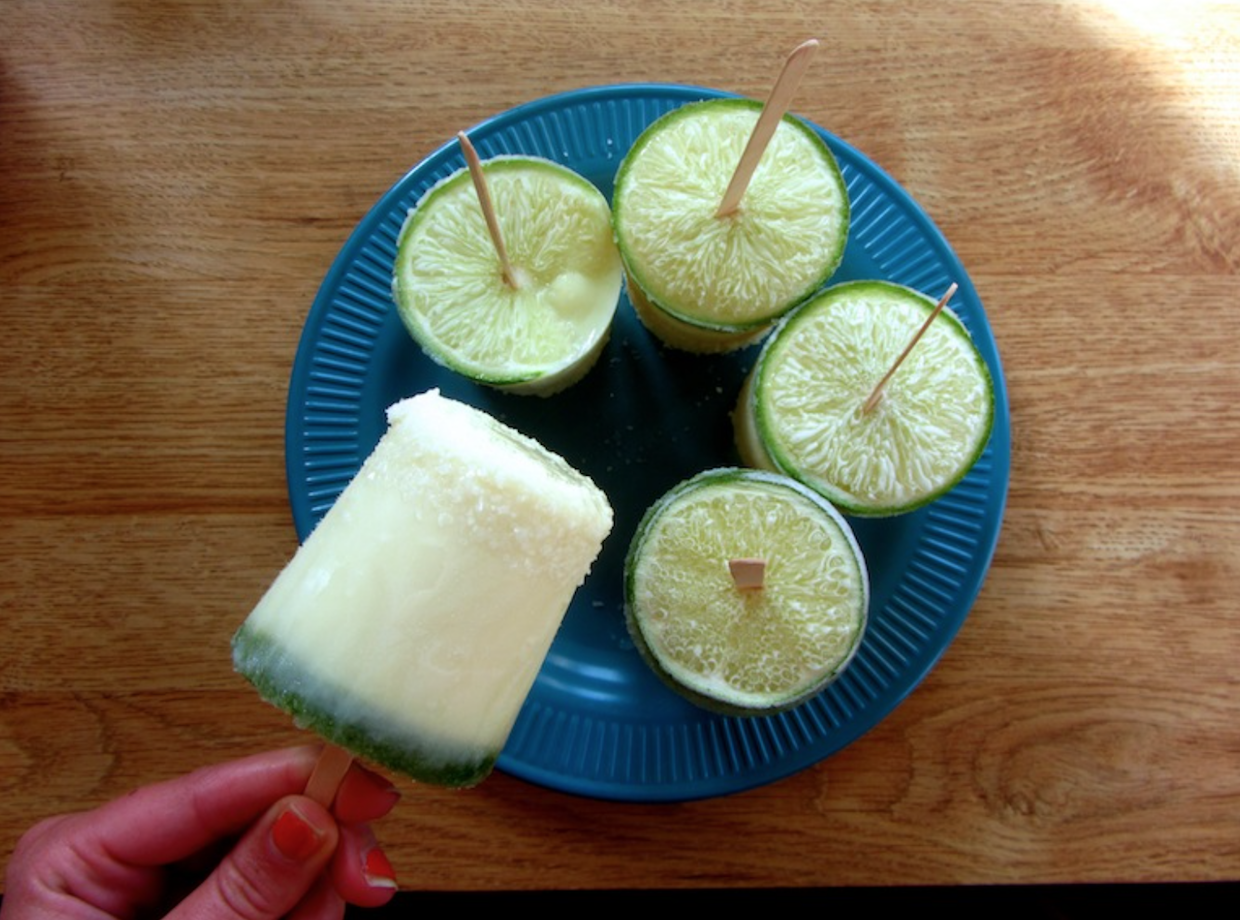 11. Margarita Ice Pops