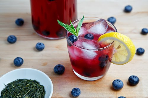 Blueberry Infused Green Tea Detox