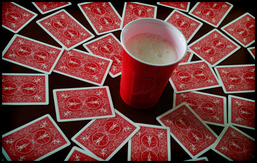 A Ring Of Fire Drinking Game
