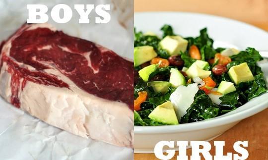 gendering food