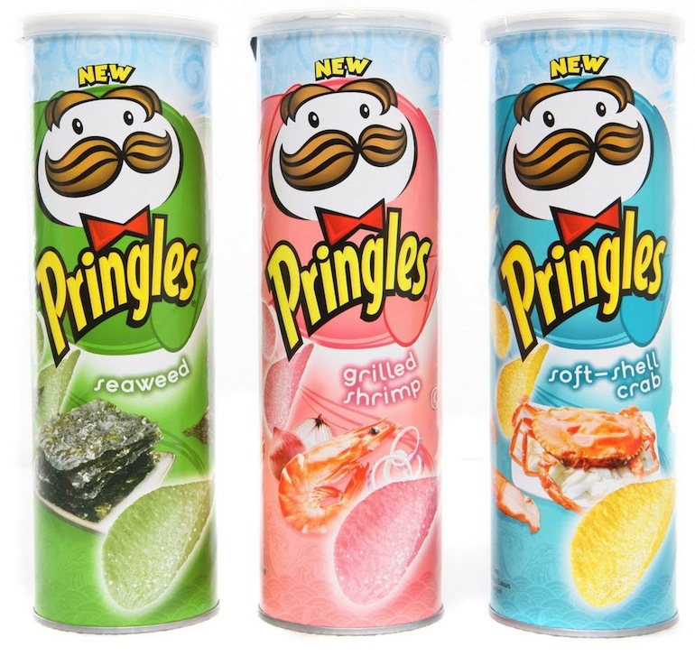 15 Wacky Pringles Flavors That You Never Knew Existed