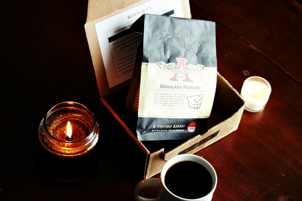 Coffee game with a MistoBox subscription