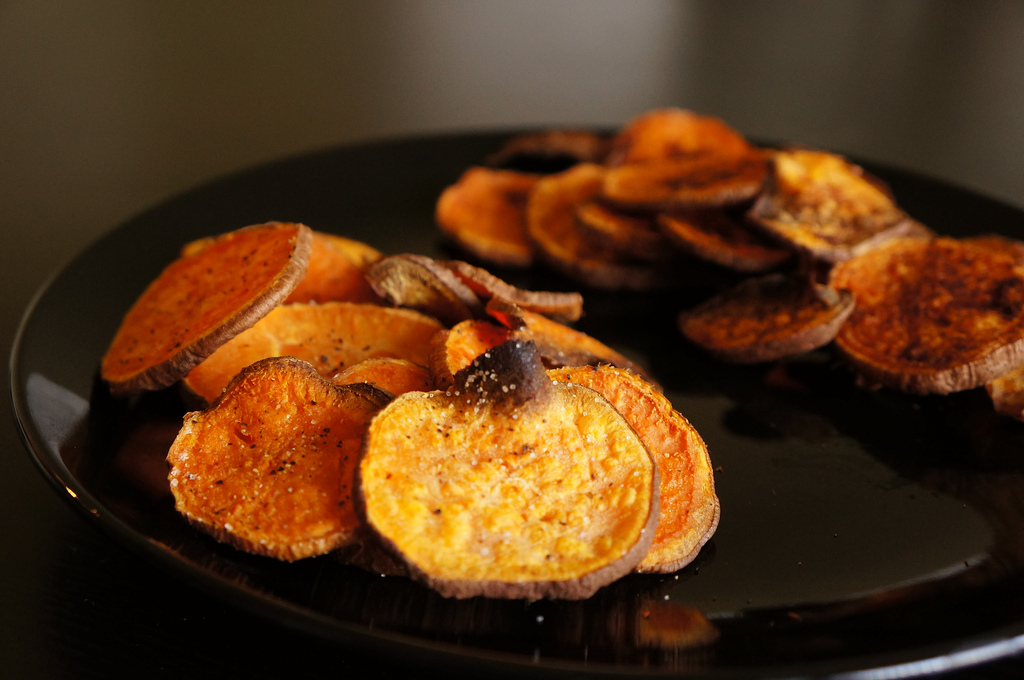 how to cook swede potato chips