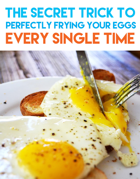 frying your eggs
