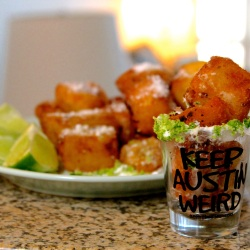 Deep Fried Tequila Shots