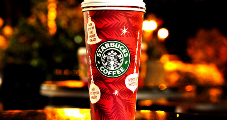 10 Lucky Customers will win Free Starbucks for Life