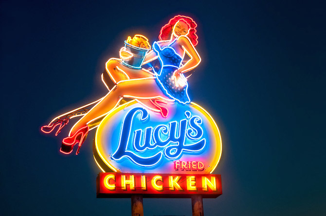 Photo from Lucy's Fried Chicken website